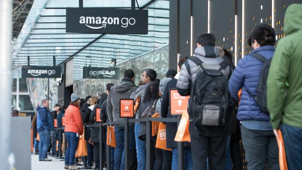Amazon Go grocery stores will hit the UK high streets by the end of the year as the online giant enters negotiations for 30 sites across the country.