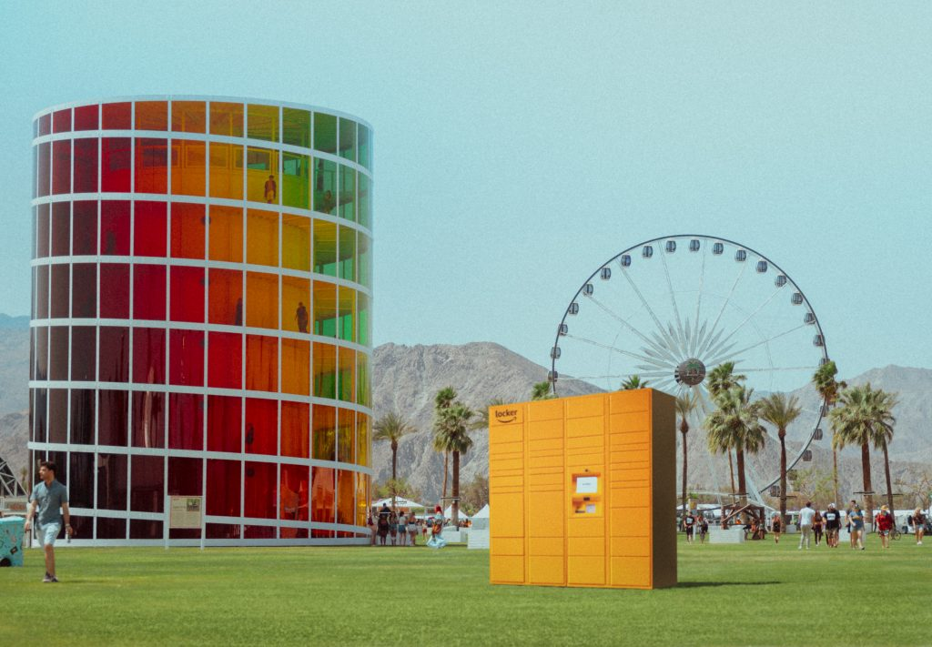 Amazon to deliver goods to lockers inside Coachella Festival