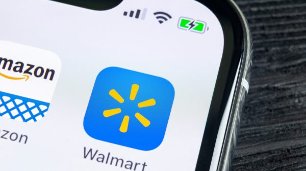 Walmart's stocks leapt nearly seven per cent yesterday after it was reported that it plans to launch its answer to Amazon Prime this month.