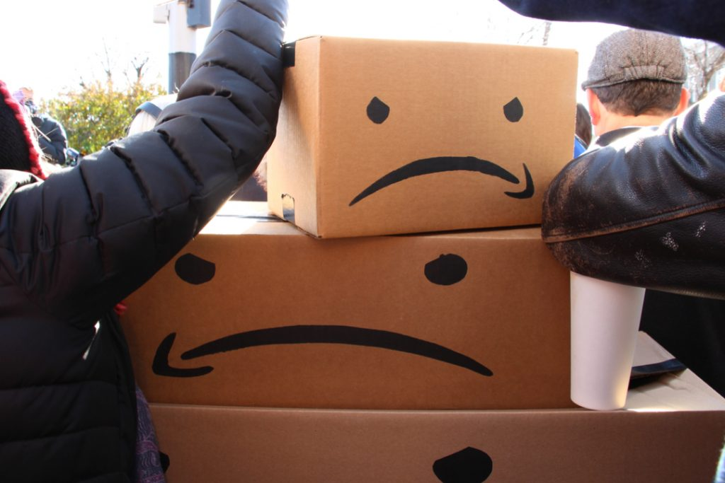 Amazon workers at 4 German fulfillment centres strike over pay