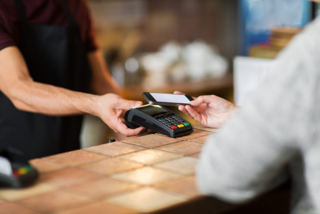 Coffee shop becomes first to go cashless