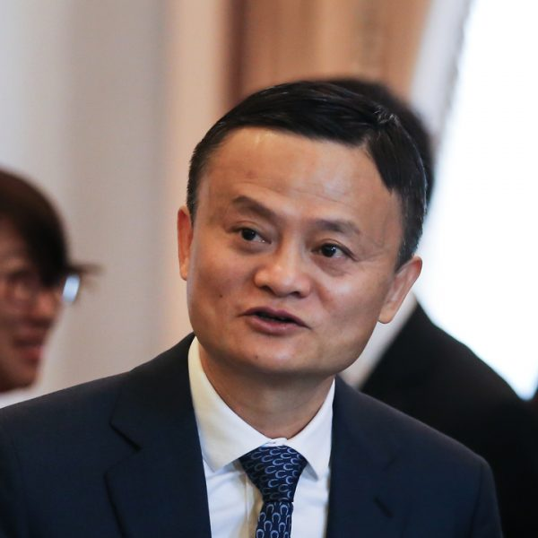 "Alibaba's founder Jack Ma has made his first public appearance since ""disappearing"" in October sending shares in the company jumping nearly nine per cent."