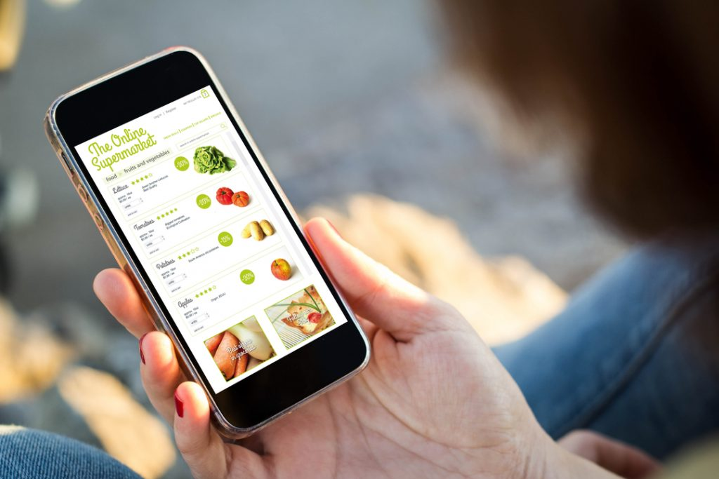 Online grocery shopping struggles to maintain growth