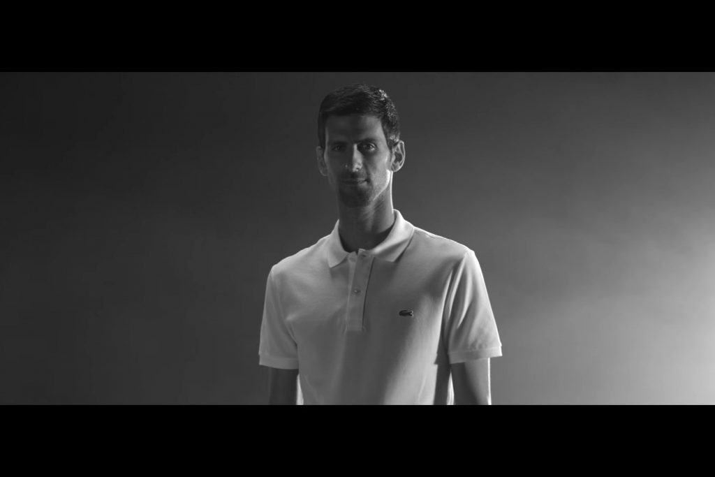 Lacoste launches shoppable ads for Djokovic French Open matches