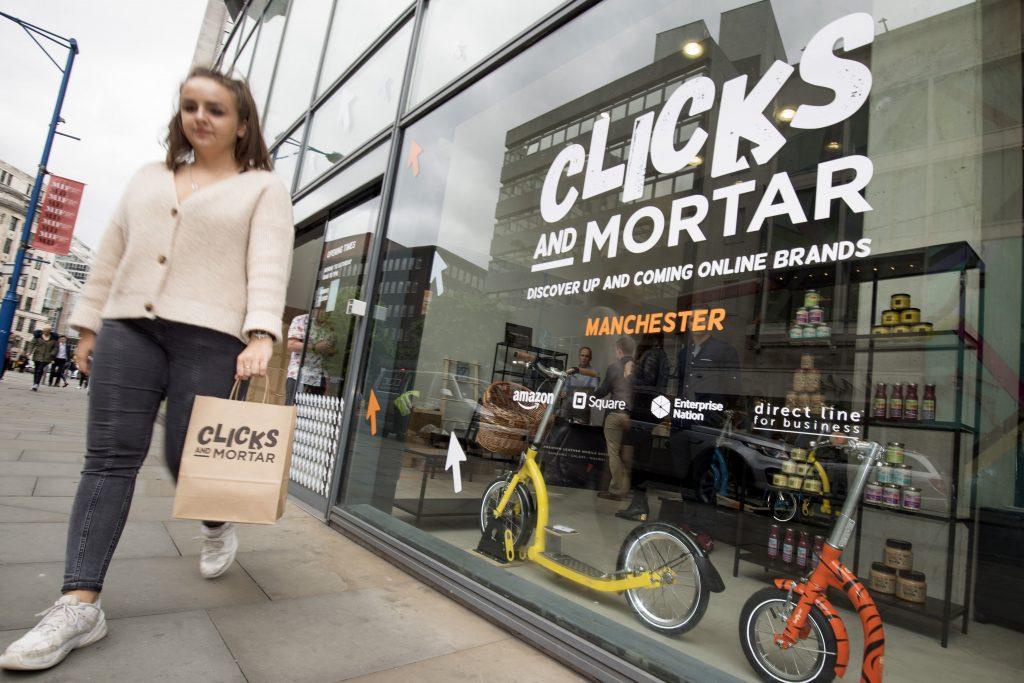 "Amazon to open 10 ""Clicks and Mortar"" pop-ups across UK"