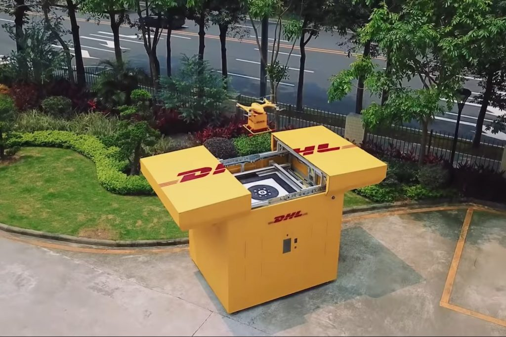 DHL launches drone deliveries in China