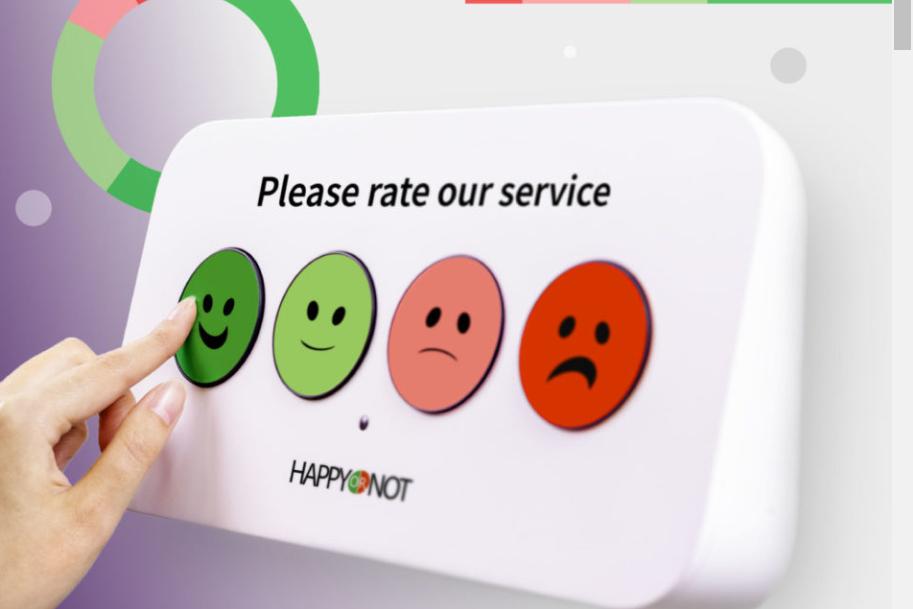 HappyOrNot celebrates 1bn customer feedbacks