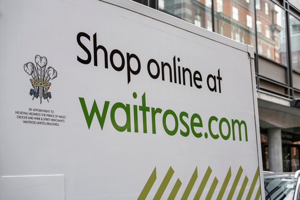 Waitrose delivery drivers will now accept John Lewis returns
