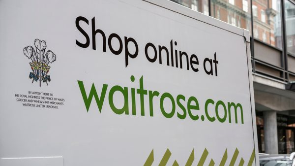 Waitrose & Partners says that a quarter of the shoppers who purchased groceries online with it did so for the first time ever this year.