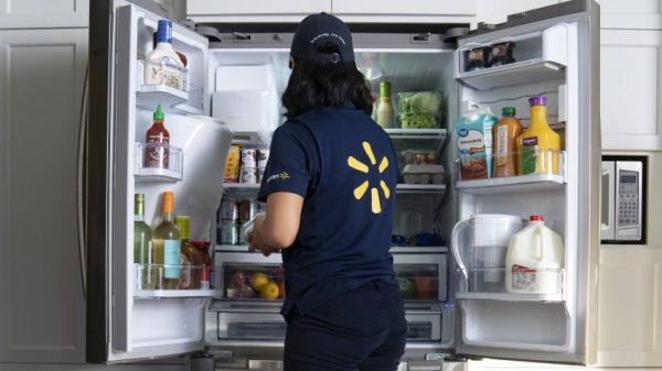 Walmart is launching its InHome delivery service which will offer customers the option to give delivery drivers access to their homes so they can deposit groceries in their fridges.