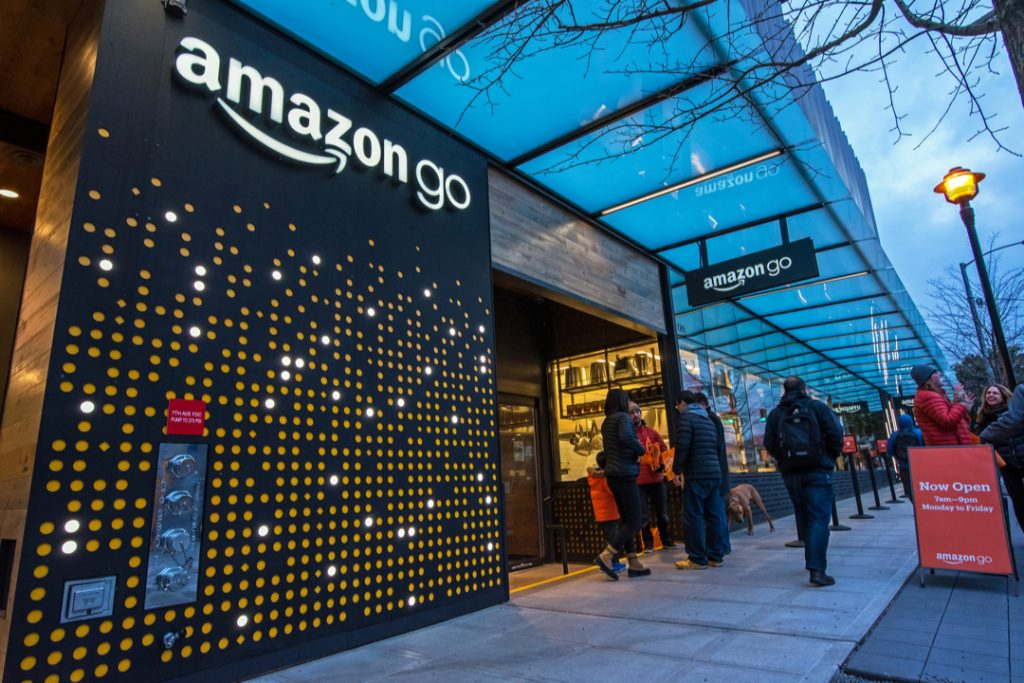 Amazon Go shoppers spend far less than they do at rival grocery stores