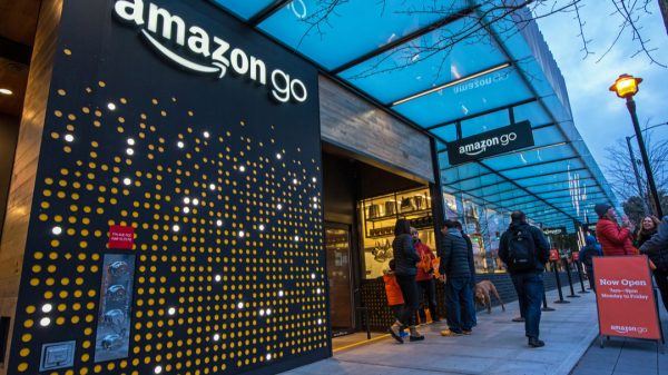 Amazon is launching a new larger 'Amazon Go Grocery' store format today spanning nearly five times the floorspace of its cashierless convenience stores.