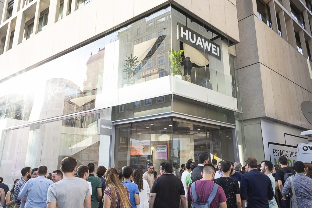 Huawei opens largest retail store outside of China