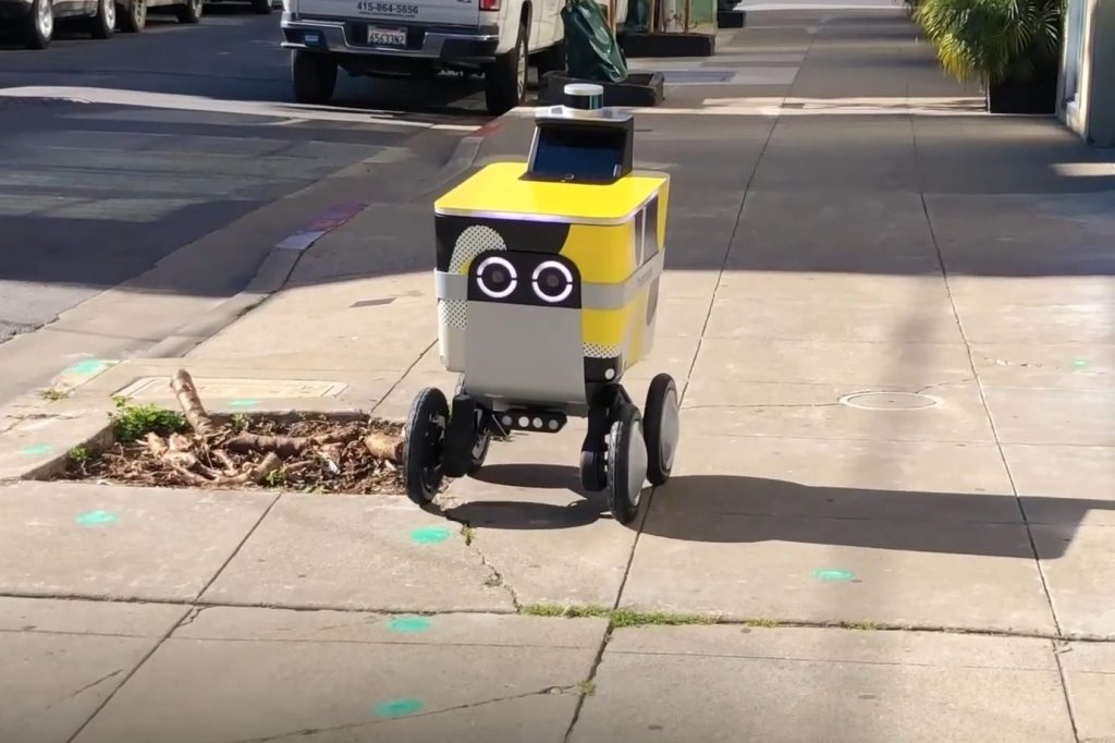 Postmates' autonomous delivery robots get new state-of-the-art navigation sensors