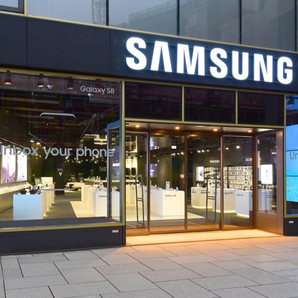 Samsung's shares have jumped 2.41 per cent despite posting a 56 per cent dive in operating profits amid its third quarter results.