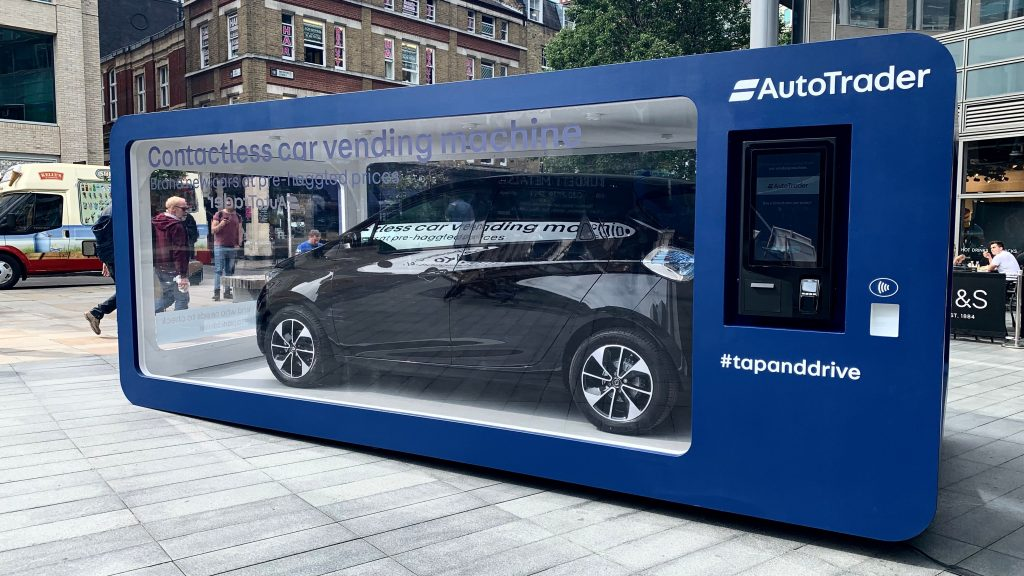 Car vending machine lets you buy a Renault Zoe instantly ...