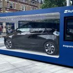 A car vending machine has been launched today in London's Spitalfields Market, allowing customers to buy a brand-new car instantly.