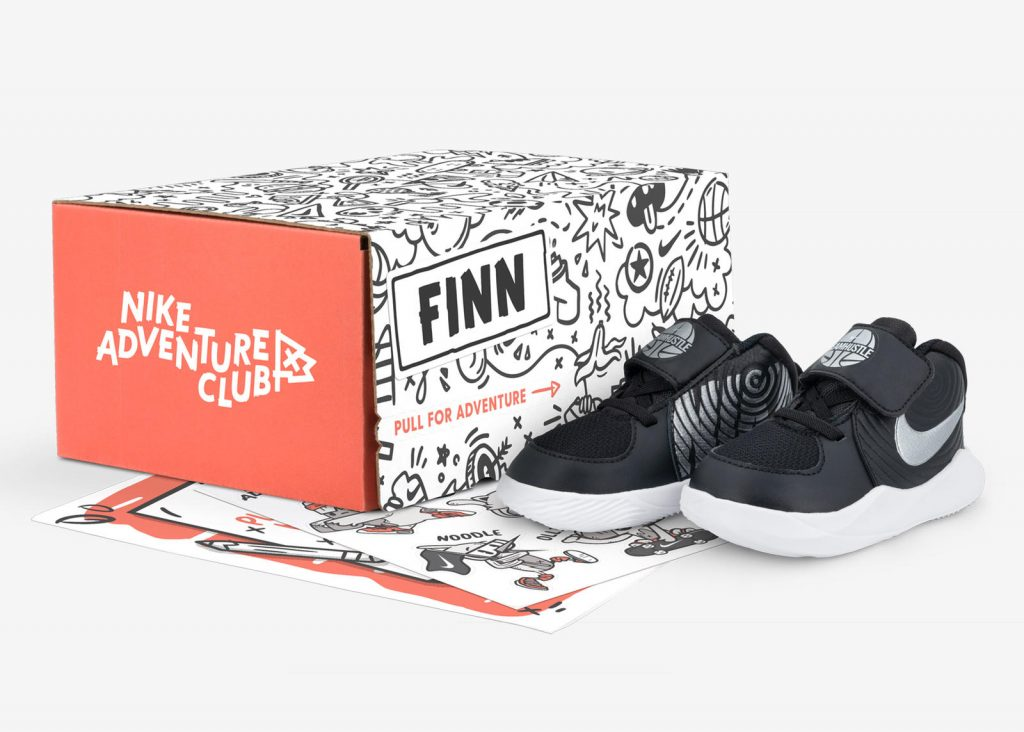 "Nike launches kids shoe subscription service ""Adventure Club"""