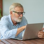 Pensioners are now online shopping in their droves, as more than half of over 65s said they have shopped online for the first time in history.