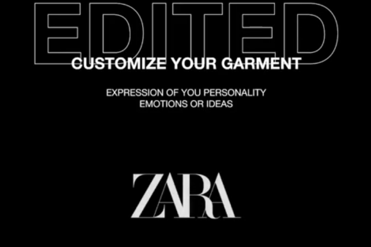 "Zara's ""Edited"" collection lets you personalise items for free"