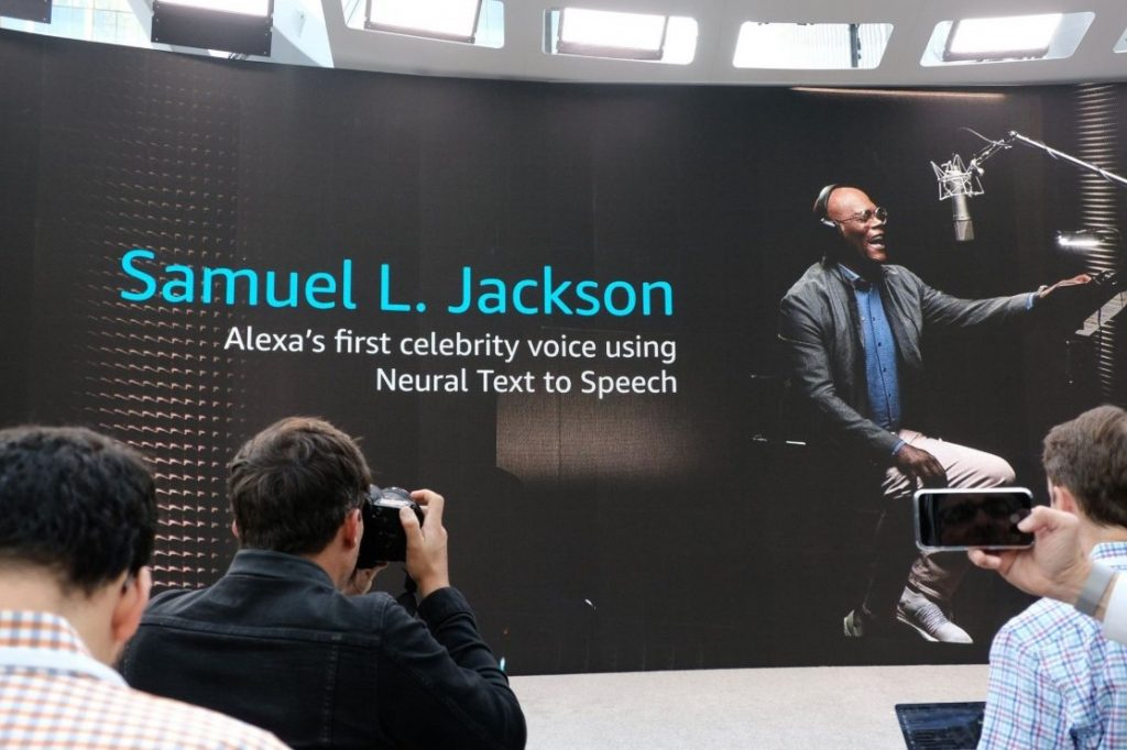 Samuel L. Jackson's voice now available on Amazon Alexa