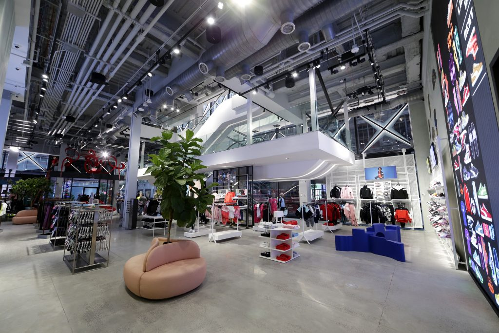 Puma launches first NYC flagship, full of virtual surprises