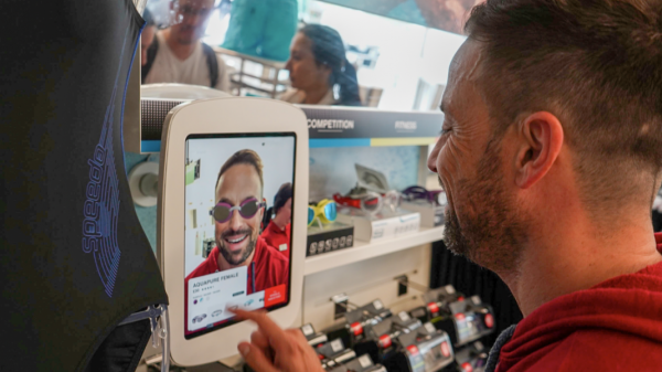 "Speedo has launched an AR 3D face scanning app allowing shoppers ""to interact with the product before they make a purchase""."
