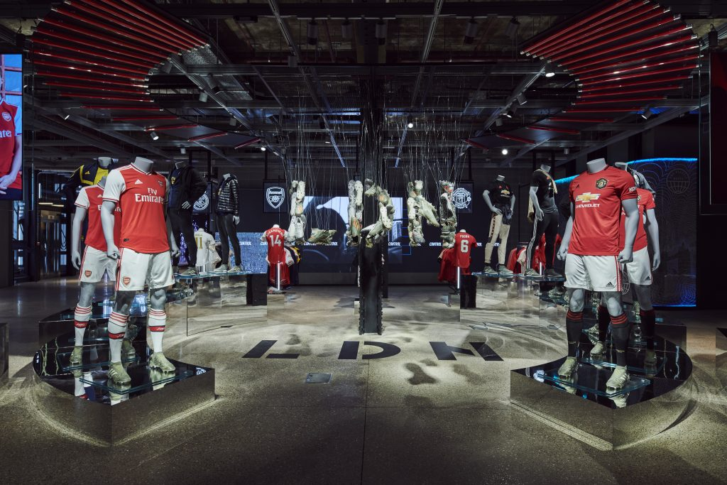 "Adidas launches ""most digital store ever"" on Oxford Street"