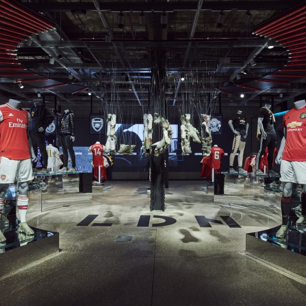 """Adidas has launched a new hi-tech flagship store in the heart of London set to be its """"most digital store ever""""."""