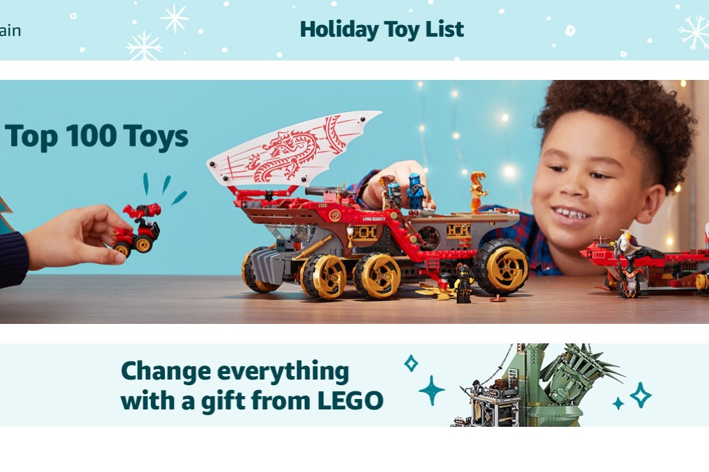 "Amazon ""Holiday Toy List"" can cost toy makers up to $2m to be included"