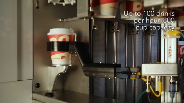 Whole Foods Market is set to install a new fully automated robotic barista, allowing users to completely customise and receive their coffee within minutes.