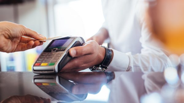 Contactless payments are set to be king as customers return to non-essential shops this week, with 40 per cent of shoppers stating it'll be a key tactic is staying safe.