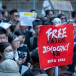 Apple has become the latest company to be drawn into the increasing hostilities between China and western companies over the ongoing Hong Kong protests.