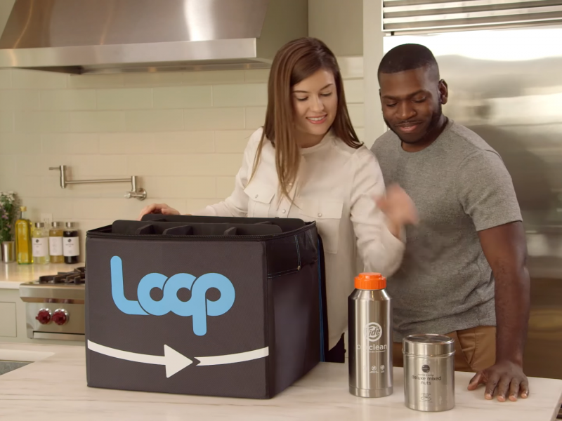Zero waste shopping service Loop, which delivers branded items in refillable containers is set to launch in the UK next month.