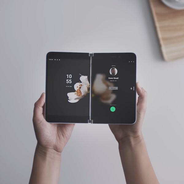Microsoft has become the latest tech retailer to announce a folding phone, marking its first venture into Android smartphones in its history.