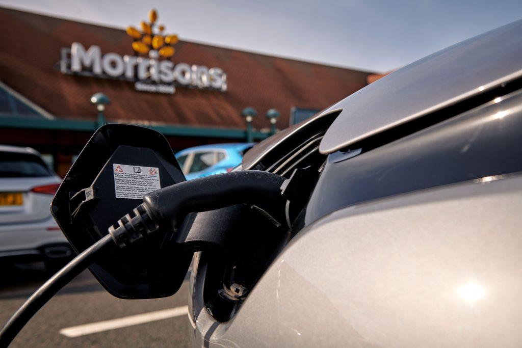 Morrisons unveils largest EV rapid charging network in UK