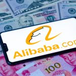 Alibaba's shares have jumped more than six per cent today after it launched this year's largest public listing on Hong Kong's stock exchange.