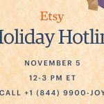 "Etsy has launched the first ever ""Holiday Hotline"" offering struggling shoppers expert one-on-one gifting advice this Christmas."