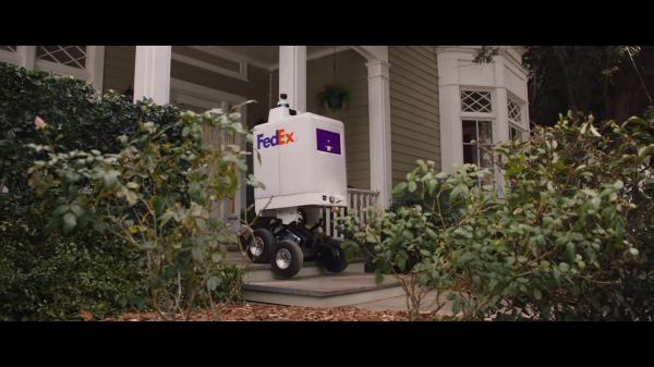 "FedEx autonomous delivery robots have been ordered to ""get off the streets"" by New York's mayor after just one day in the city."