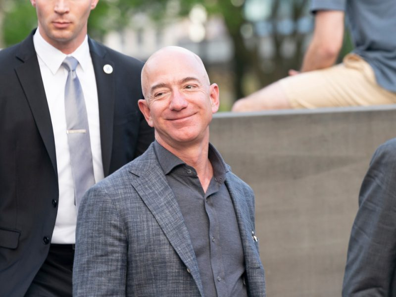 Amazon's founder and chief executive Jeff Bezos has sold off around $2 billion in company stock, and reportedly has plans to sell off billions more this year.