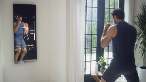 Lululemon has invested in fitness tech startup Mirror, which uses smart mirrors to run fitness classes in your home.