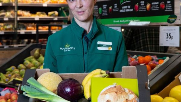 "Morrisons has become the first UK supermarket to begin selling groceries past their sell-by date amid a new partnership with ""Too Good To Go""."