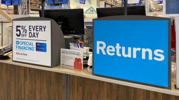 "Unreturned items with a total value exceeding £2 billion have built up across the UK as shoppers are ""struggling to return goods during the current restrictions and lockdown""."