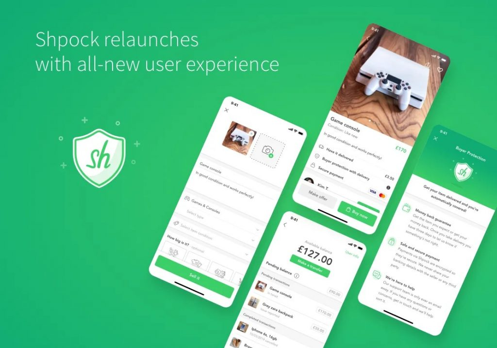 Shpock undergoes major overhaul adding in-app payment functionality