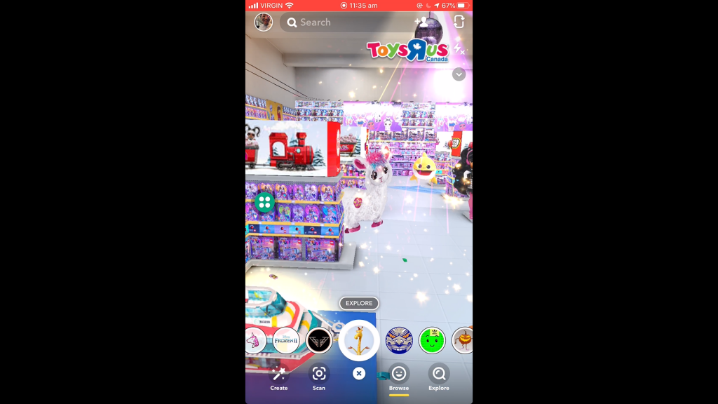 Toys R Us partners with Snapchat to launch shoppable AR virtual toy store