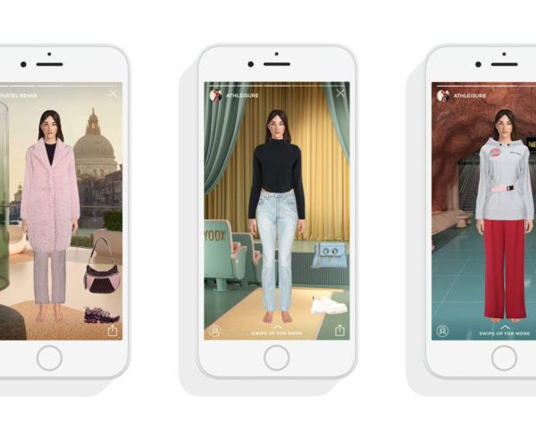 YooxMirror is its AI-powered virtual mirror launched last year, offering customers the ability to explore the retailer's catalogue by virtually dressing an avatar called Daisy.