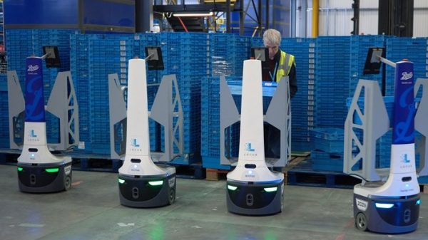 Boots has deployed more than 100 robots to help its warehouse staff keep up with the intense demand over this holiday shopping season.
