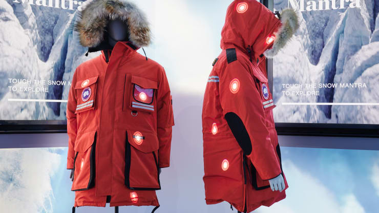 Canada Goose opens experiential store with artificial snow storms but no products