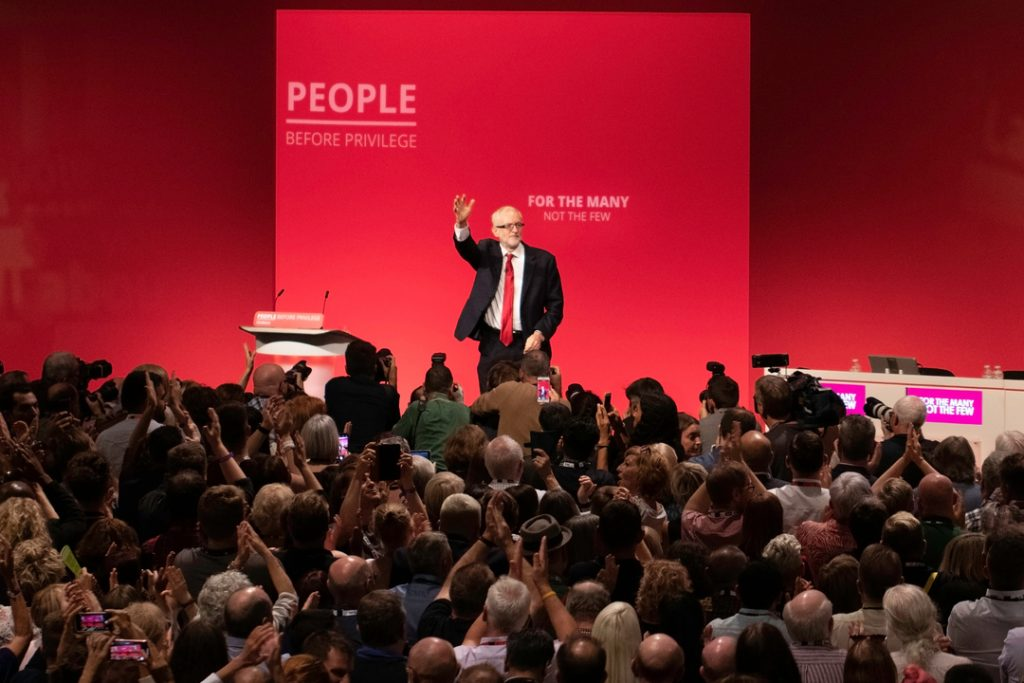 """Corbyn rips Amazon, Asda and Sports Direct for having """"exploited, ripped off and dehumanised workers"""""""