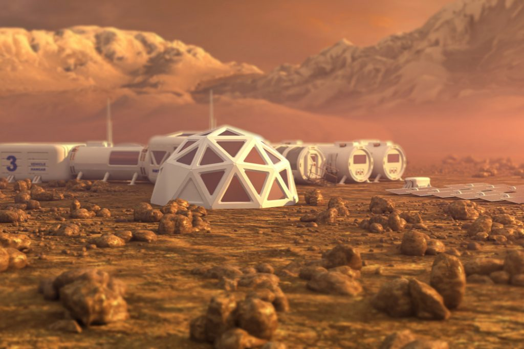 Ikea helping scientists design homes on Mars